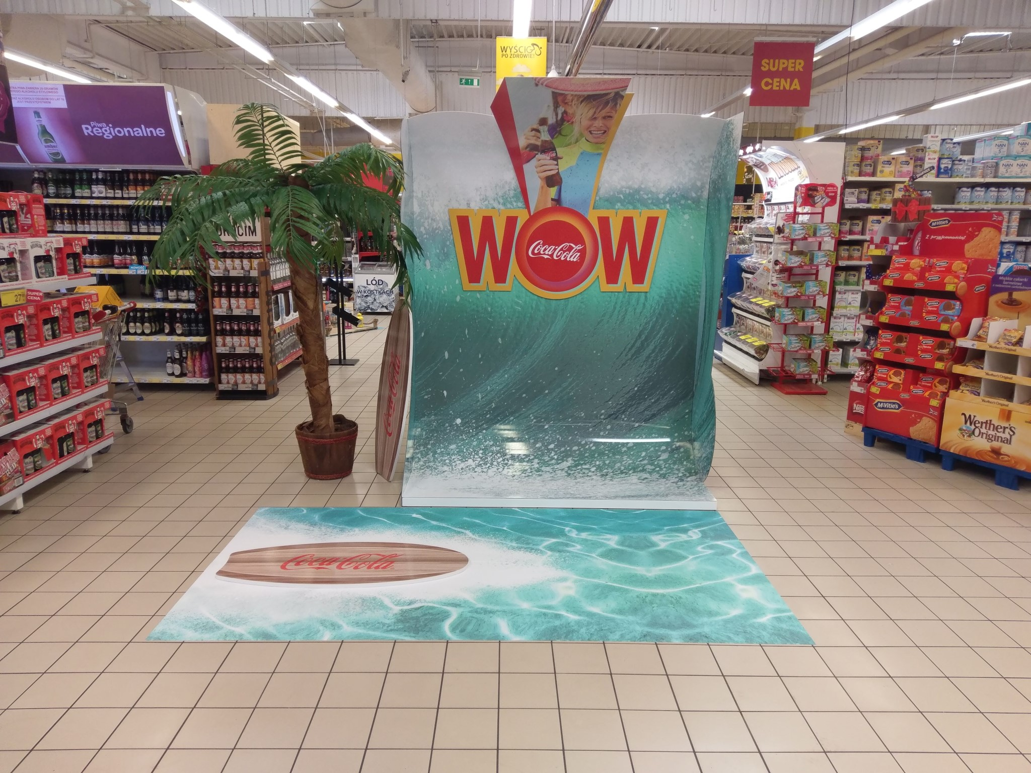 Summer exposition for Coca-Cola